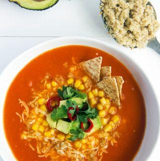 ¡La mejor sopa mexicana!
