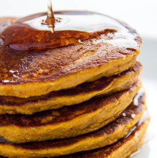 Pancakes de auyama
